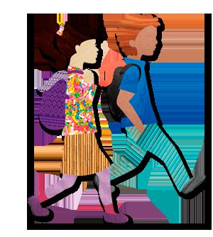 Safe Kids Illustration