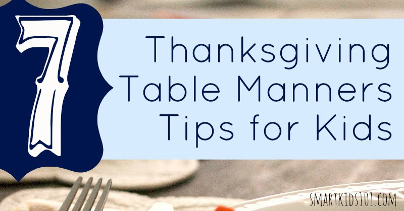 What Every Kid Needs to Know about Thanksgiving Day Table