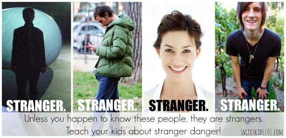 To help your children stay safe outdoors and in public, teach them these stranger danger tips from http://smartkids101.com