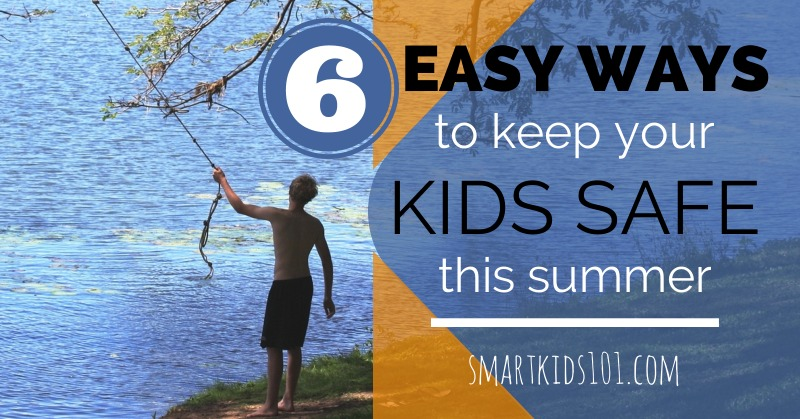 Looking for ways to keep your kids safe and having fun this summer? Here's what a parent needs to know to tell you kids. from https://smartkids101.com