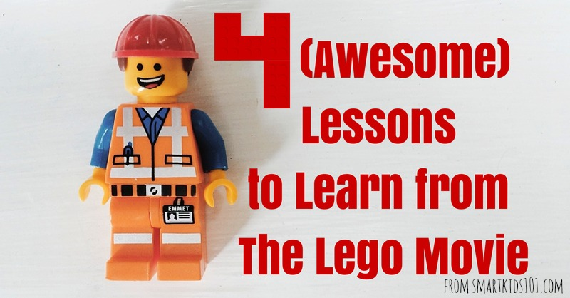 4 (Awesome) Lessons to Learn From the Lego Movie Smart Kids 101