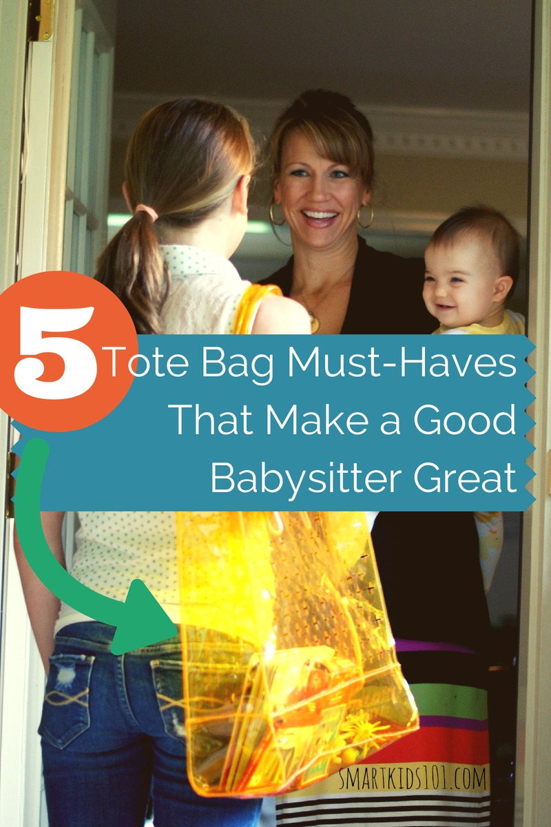 these are the 5 things every babysitter needs to bring to every job they