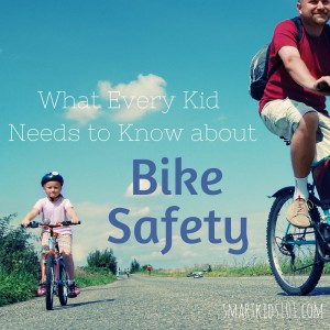 What Every Kid Needs to Know about Bike Safety - 3 things to teach every child who rides a bicycle from http://smartkids101.com