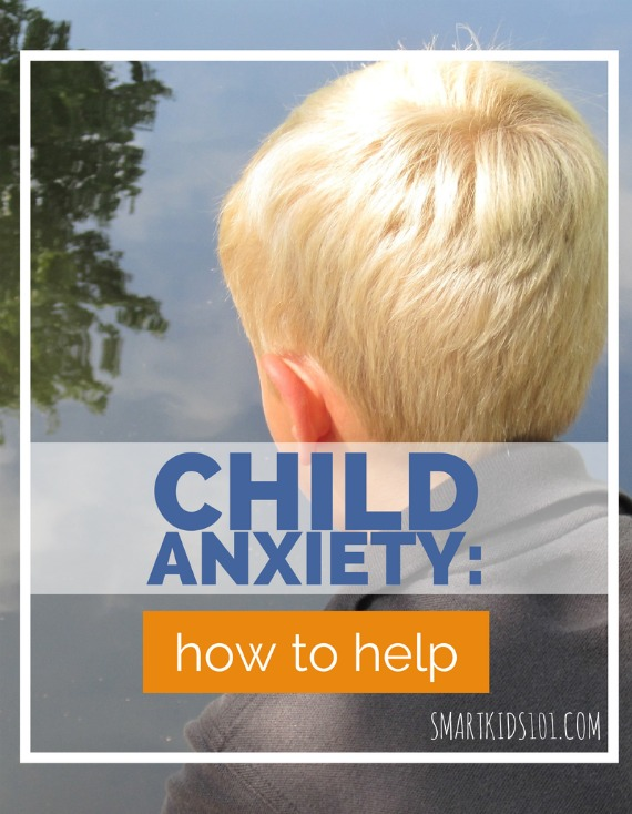 Some great tips to help kids work through their anxiety in a healthy way #smartkids101