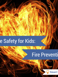 Fire Safety for Kids: Fire Prevention talks about what you need to do to prepare kids to be safe in case of a fire