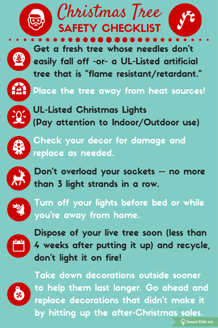 Christmas Tree Safety Checklist