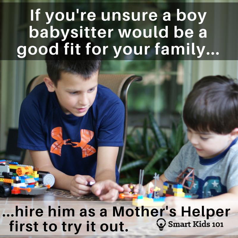 Can a Boy Be a Babysitter? Smart Kids 101