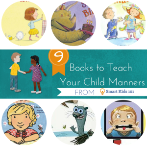 9 Books to Teach Kids Manners
