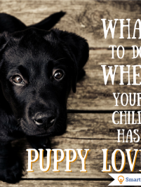 What to do when your child has puppy love... first crushes can be tough on a parent! Here's some tips.