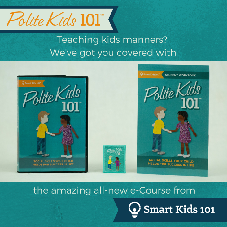 Etiquette classes for kids with Polite Kids 101
