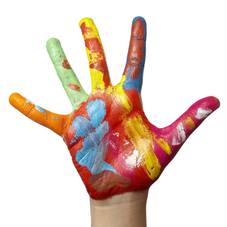 Hand Painting For Preschoolers