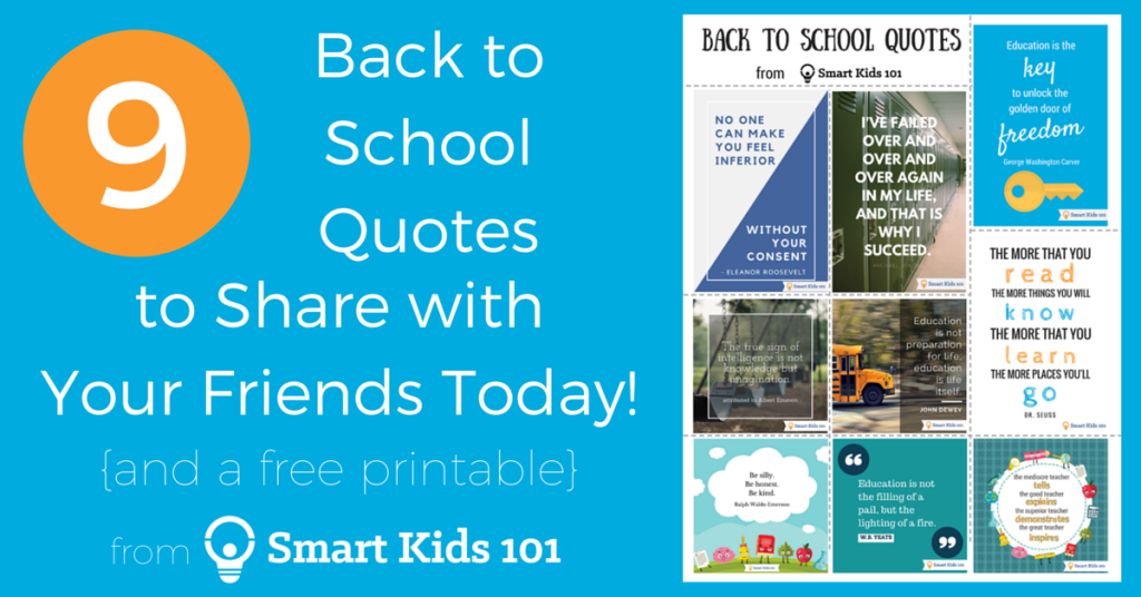 9 Back To School Quotes To Share With Your Friends Today Smart