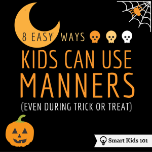 8 Easy Ways Kids Can Use Manners Even During Trick or Treat