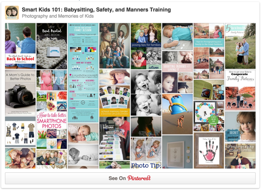 Follow our photography board on Pinterest!