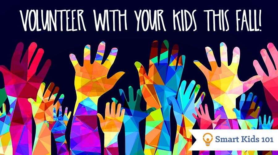 Volunteer with your kids this fall and other fall activities at the link