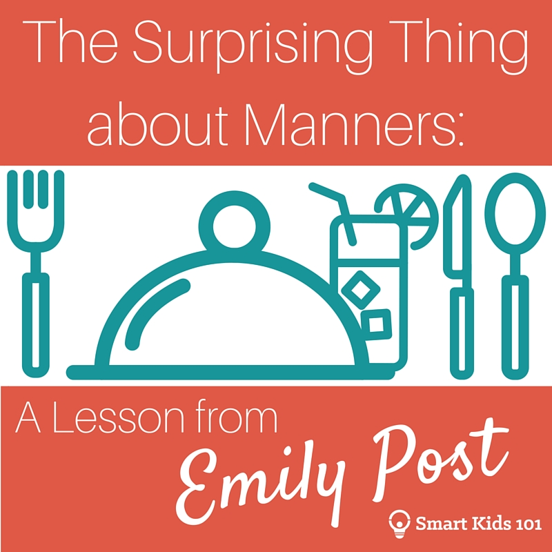 The Surprising Thing about Manners A Lesson from Emily Post Main Square