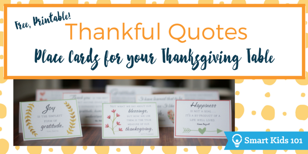 picture about Thankful Printable named Totally free, Printable Grateful Rates for Your Thanksgiving Desk