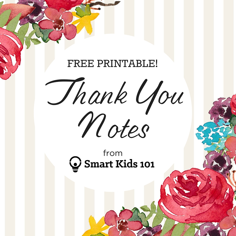 image about Free Printable Thank You Cards for Students named Just take Your Totally free, Printable Thank Your self Notes Instantly Listed here Clever
