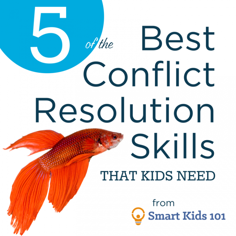 5 of the Best Conflict Resolution Skills that Kids Need