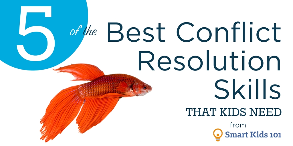 5 of the Best Conflict Resolution Skills that Kids Need | Smart ...