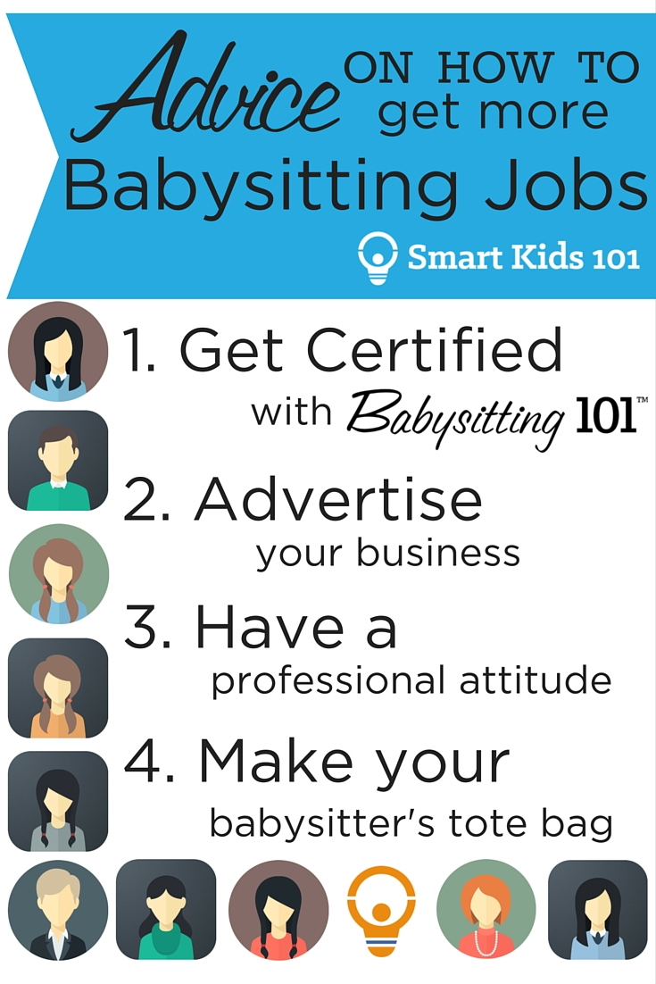 advice on how to get more babysitting jobs