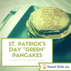 "Make Easy, Healthy St. Patrick's Day ""Green"" Pancakes for Breakfast"